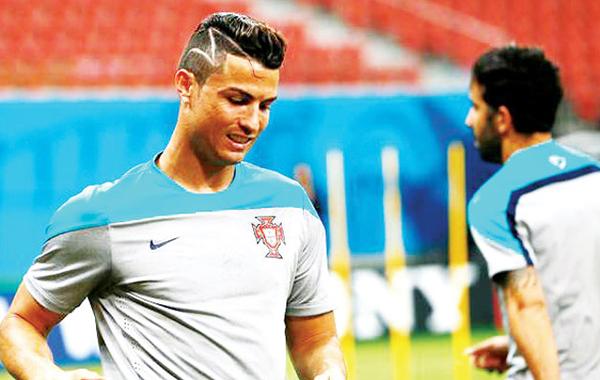 Christiano Ronaldo Undercut Hairstyle