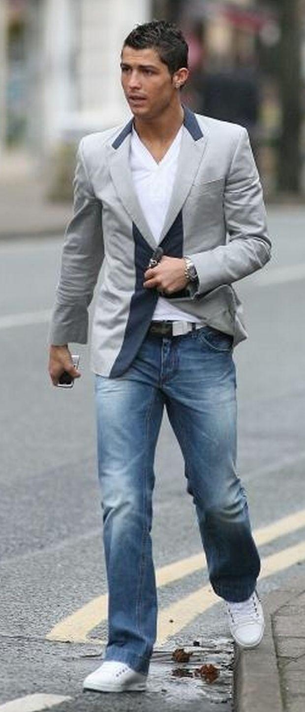 Cristiano Ronaldo fashion and hairstyles