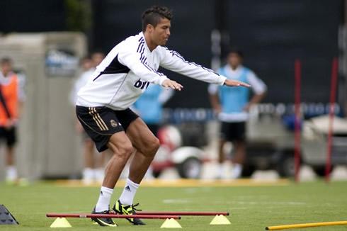 Cristiano Ronaldo workout routine and exercises