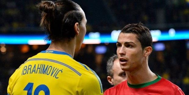 Cristiano Ronaldo vs Zlatan Ibrahimovic Angry Moments