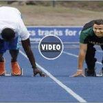 C. Ronaldo vs Usain Bolt 100 Meter Race [Video]
