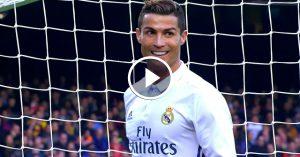 Video – The eagle eye vision of Cristiano Ronaldo