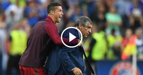 Fernando Santos claims Cristiano Ronaldo is professionally perfect!
