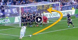 Cristiano Ronaldo The Most INSANE Free Kick Goals Ever