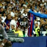 Video – Ronaldo reaction to Lionel Messi's winning goal in El Clasico 2017