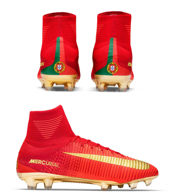 recurso renovable Anunciante extraterrestre  CR7 Mercurial Campeões: New Portugal Boots for Ronaldo by Nike