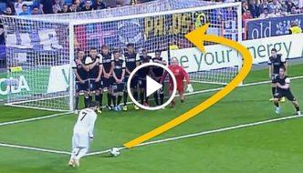 Top 25 Ronaldo Free Kick Goals – The Very Best EVER!
